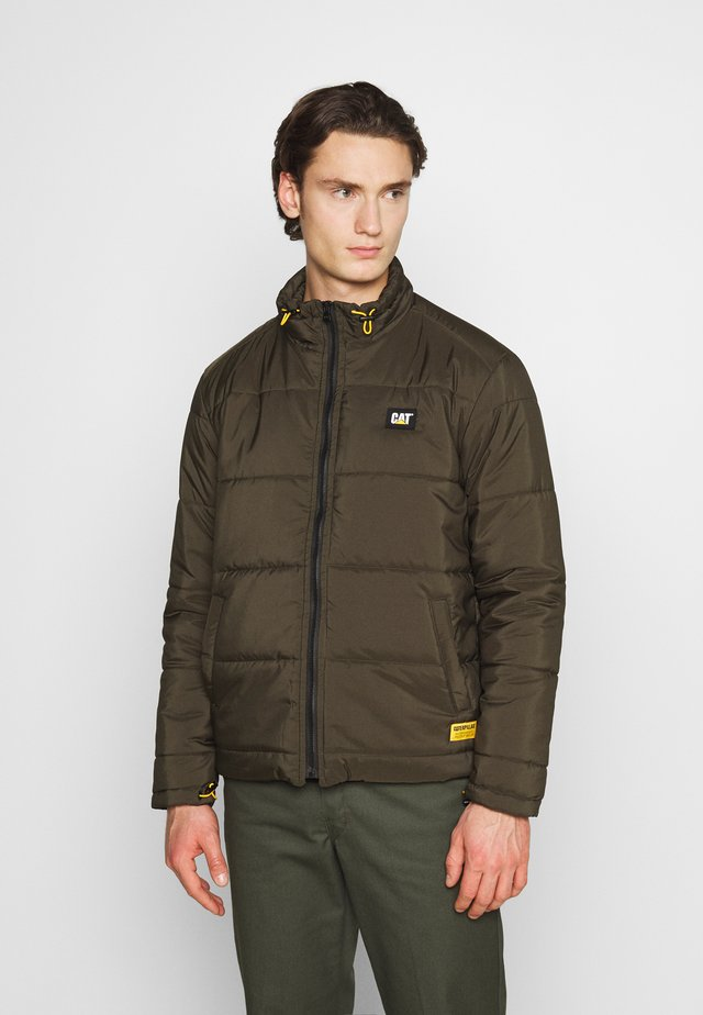 BASIC PUFFY JACKET - Vinterjacka - military