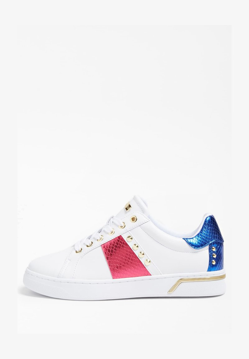 Guess - Trainers - weiß-fuchsinrot
