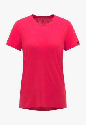T-Shirt basic - scarlet red