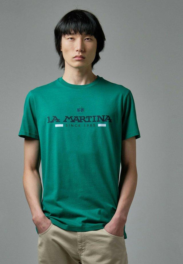 RANDAL - T-shirt con stampa - green