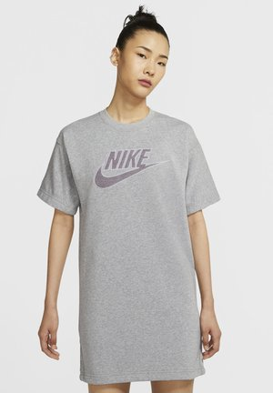 DRESS - Vestido de deporte - dark grey heather