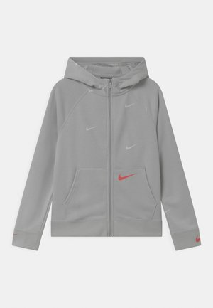 Zip-up hoodie - grey fog/infrared