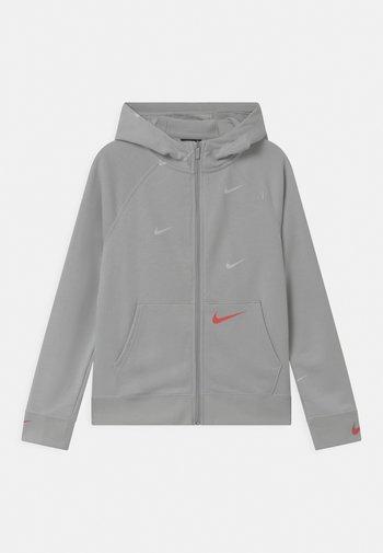 Zip-up sweatshirt - grey fog/infrared