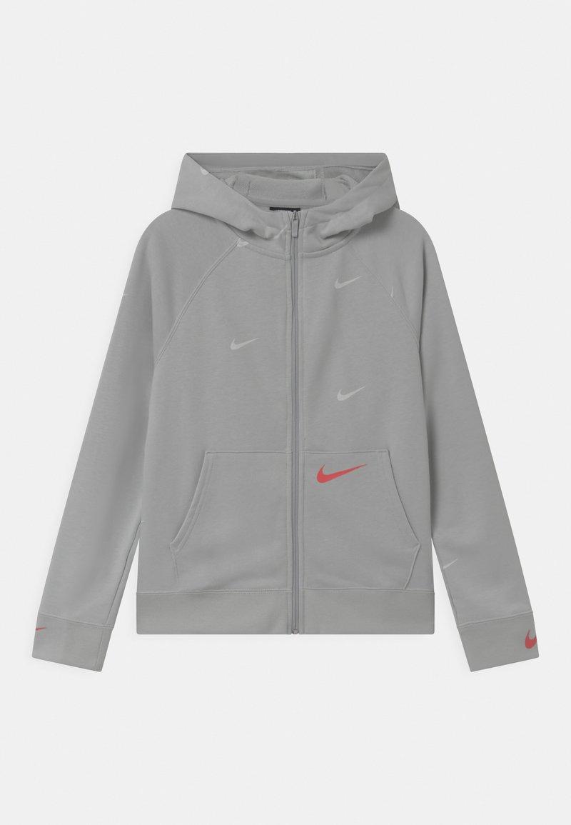 Nike Sportswear - Sudadera con cremallera - grey fog/infrared