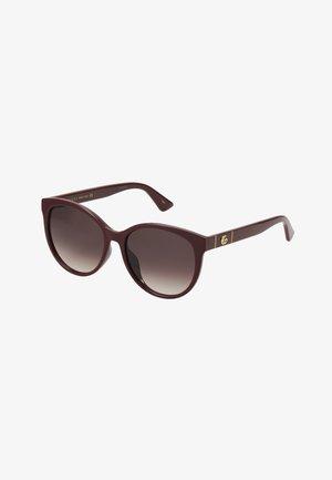 Gafas de sol - burgund/red