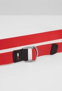 Tommy Jeans - DRING WEBBING - Pásek - red - 4