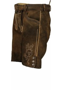 Spieth & Wensky - Leather trousers - tabak/st 238 holz - 2