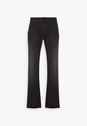 REGULAR - Straight leg jeans - black