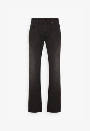 REGULAR - Straight leg -farkut - black
