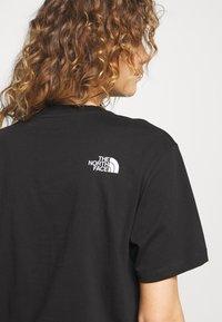 The North Face - ZUMU TEE - Basic T-shirt - black - 3