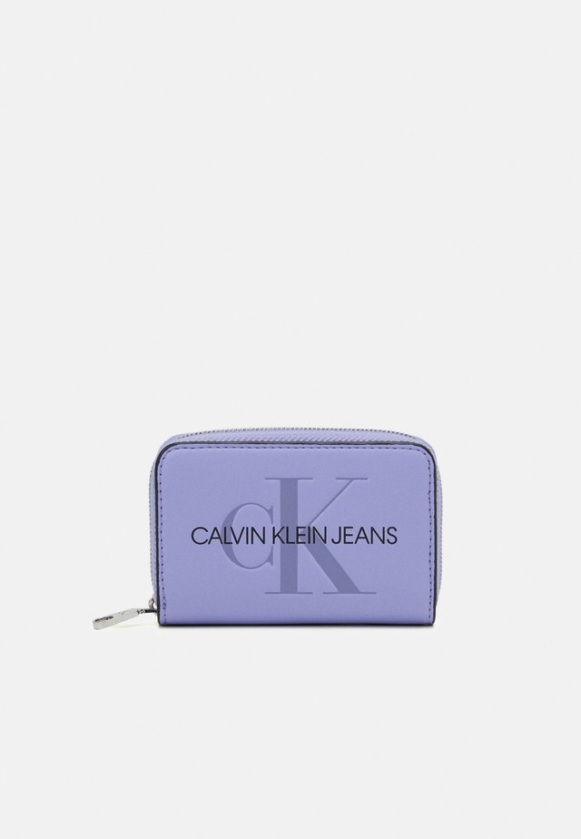 ACCORDION ZIP AROUND - Portemonnee - purple