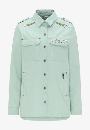 Denim jacket - neo mint