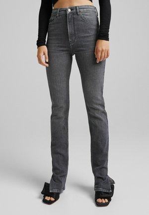 SCHLITZ - Jeans straight leg - grey