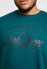 Jack & Jones - JORLIFE CREW NECK  - Collegepaita - sea moss - 5
