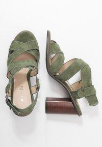Minelli - High heeled sandals - kaki - 3