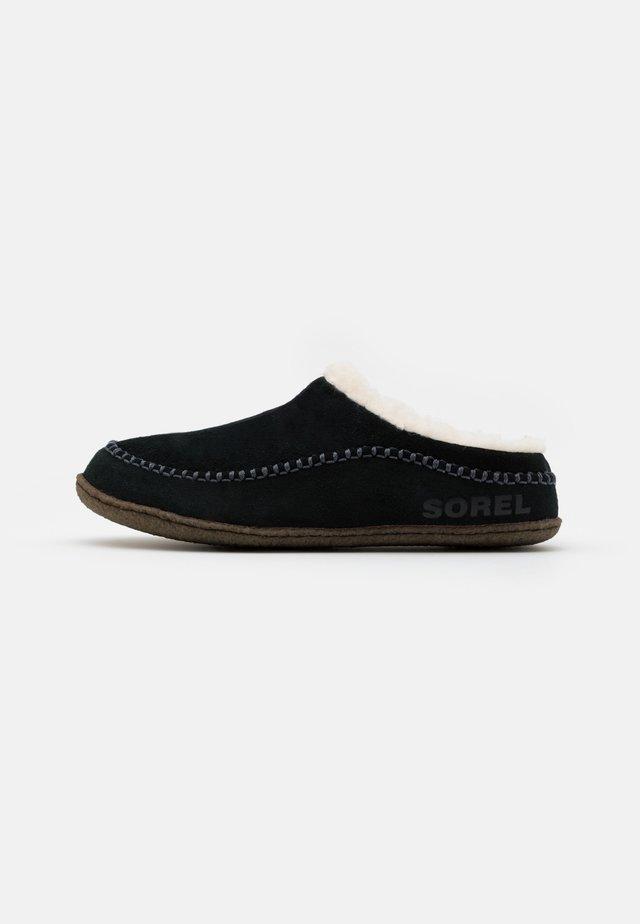 LANNER RIDGE - Pantoffels - black