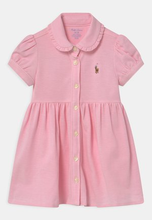 SOLID OXFORD SET - Day dress - carmel pink