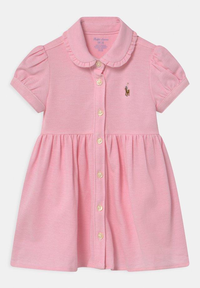 SOLID OXFORD SET - Korte jurk - carmel pink