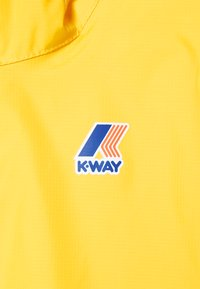 K-Way - LE VRAI CLAUDE UNISEX - Waterproof jacket - yellow - 2