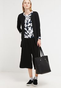 ONLY - ONLLECO LONG  - Cardigan - black - 1