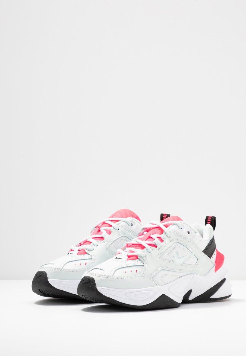 surco Dalset Murciélago  Nike Sportswear M2K TEKNO - Zapatillas - ghost aqua/flash crimson/white/ black/azul - Zalando.es