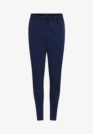 Leggings - Trousers - dark-blue denim