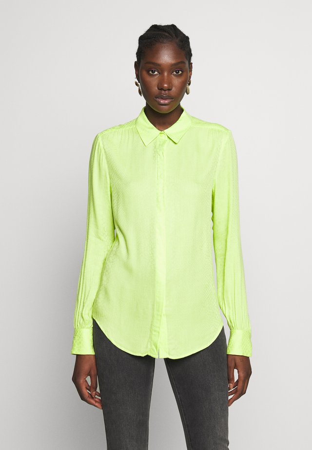MAPLE SNAKE - Blouse - acid lime