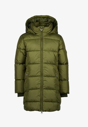TEIKE SET - Winter coat - ultra army