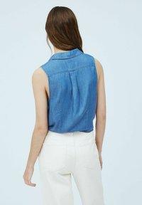 Pepe Jeans - BAY - Button-down blouse - denim - 2