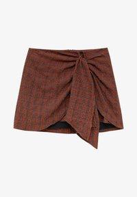 PULL&BEAR - Wrap skirt - orange - 5
