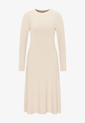 Jumper dress - silber beige