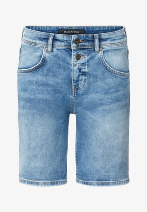 Denim shorts - easy blue wash