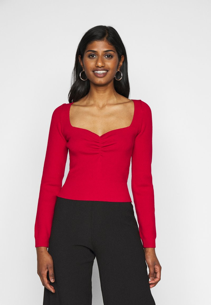 Fashion Union Petite - JESSICA - Pullover - red
