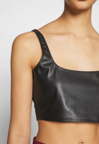 Nly by Nelly - CROP TOP - Camicetta - black - 5