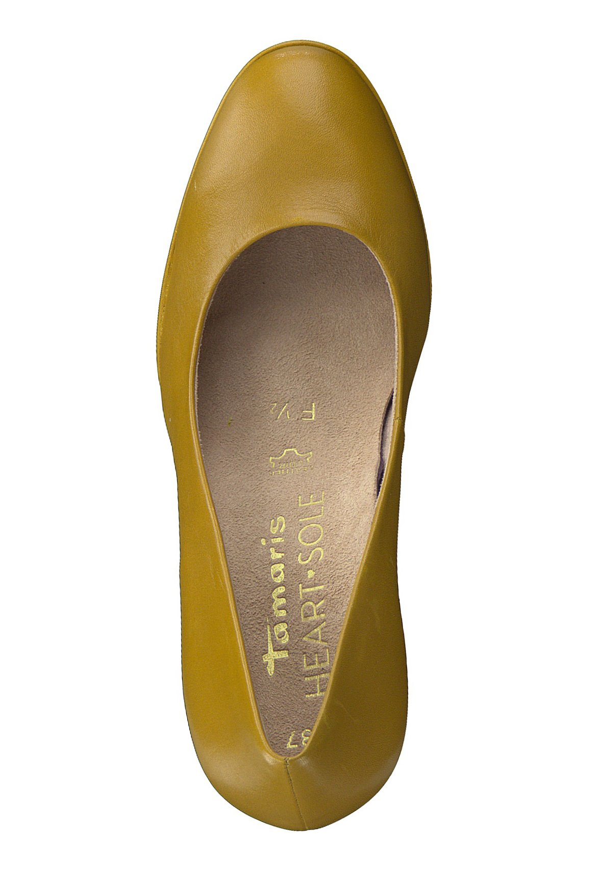 A buon mercato Scarpe da Donna Tamaris Heart & Sole COURT SHOE Decolleté mustard