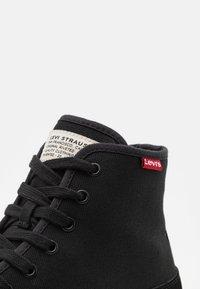 Levi's® - SQUARE  - Sneaker high - regular black - 5