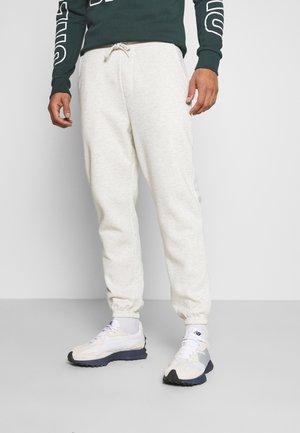 JJIKANE JJBRINK PANTS - Pantalon de survêtement - white melange