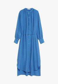 Mango - Skjortekjole - blau - 6