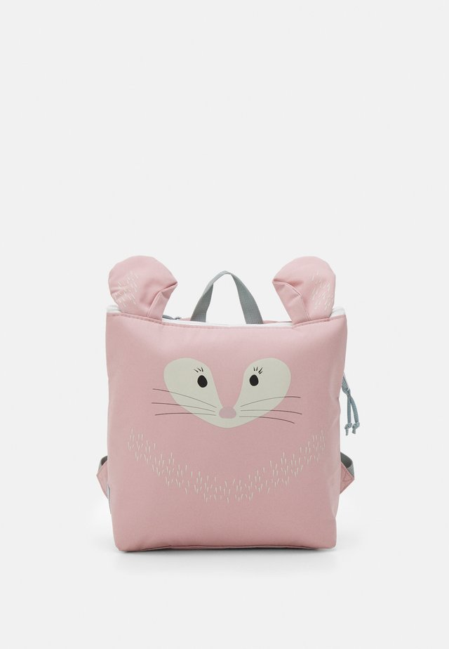 TINY BACKPACK ABOUT FRIENDS CHINCHILLA UNISEX - Rygsække - rose