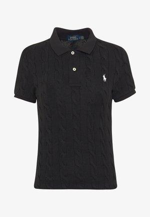 SHORT SLEEVE - Poloshirts - black