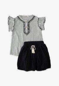 Cigit - SET - Pleated skirt - stone - 0