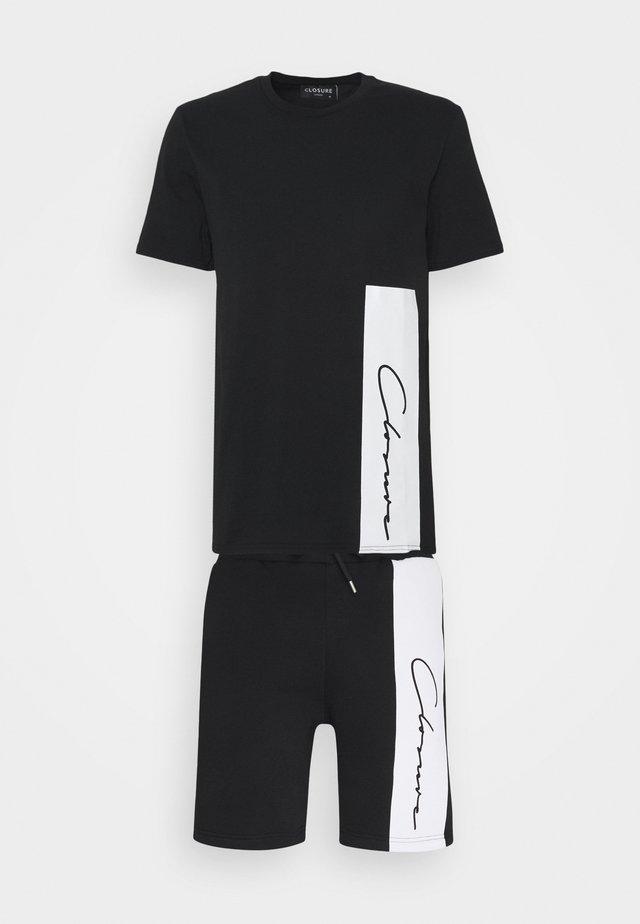 VERTICAL SCRIPT TWINSET - Trainingsanzug - black
