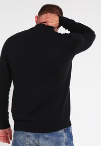 Pier One - Strickpullover - black - 2