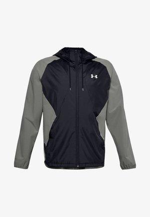 Training jacket - gravity green / black / onyx white