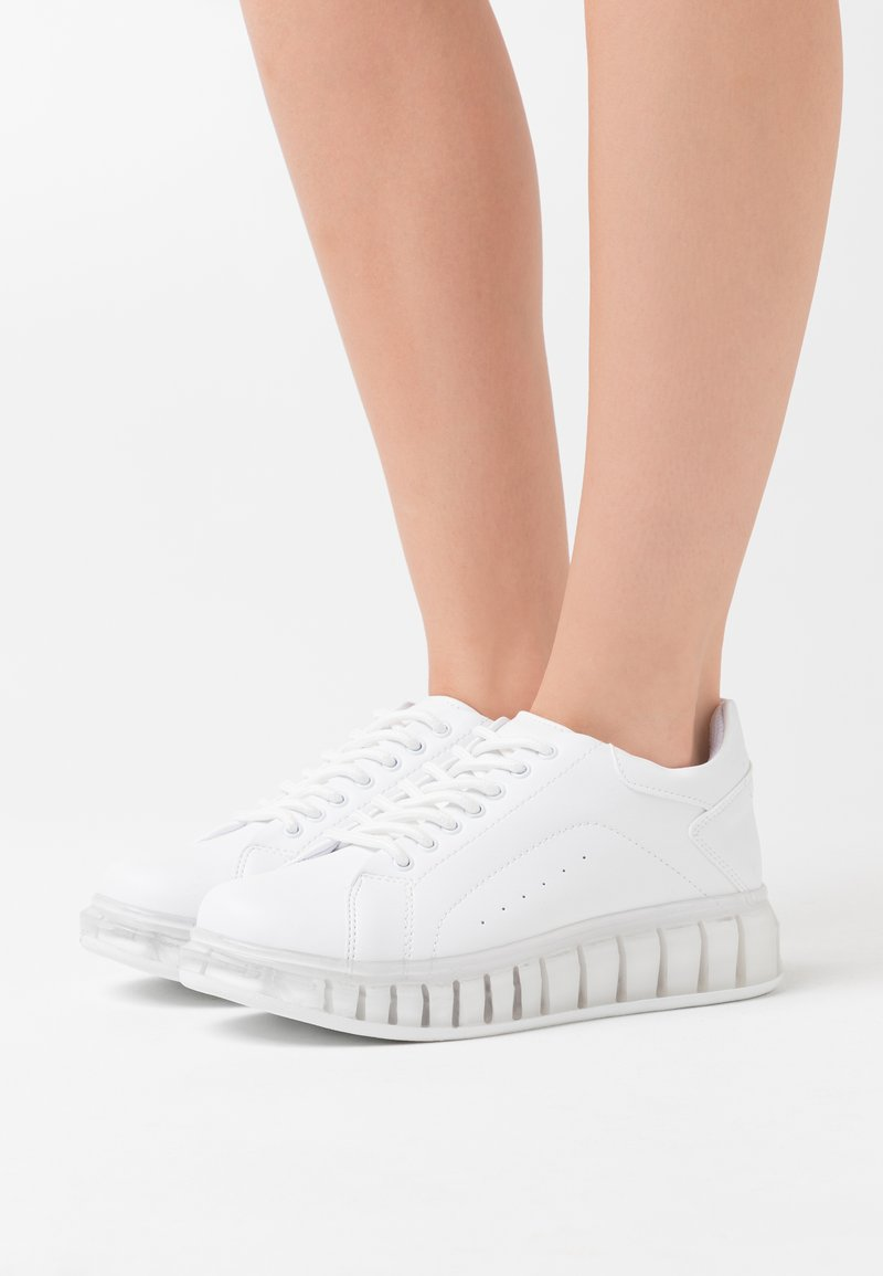 Nly by Nelly - TRANSLUCENT RETRO  - Sneakers laag - white