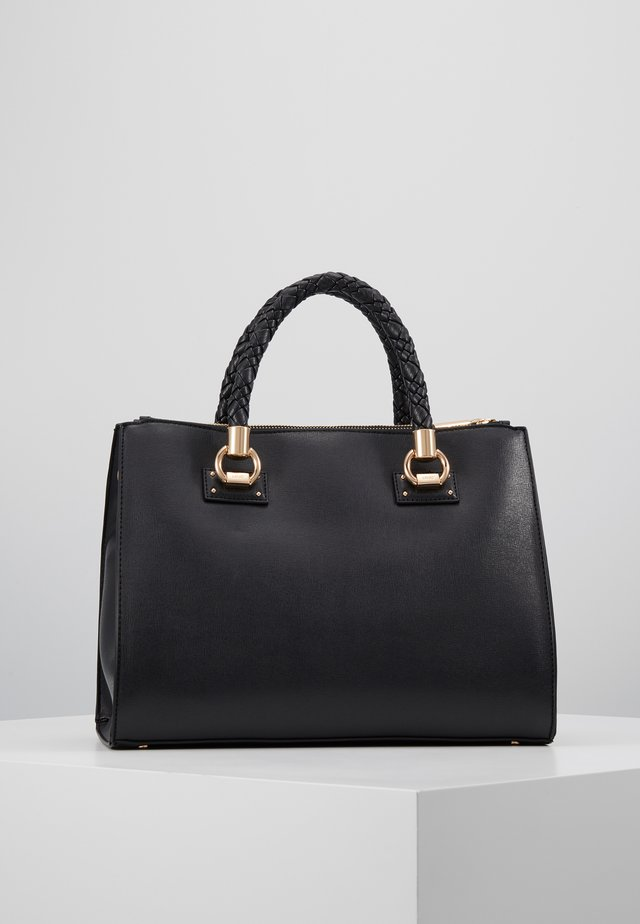 M SATCHEL NERO - Handtas - black