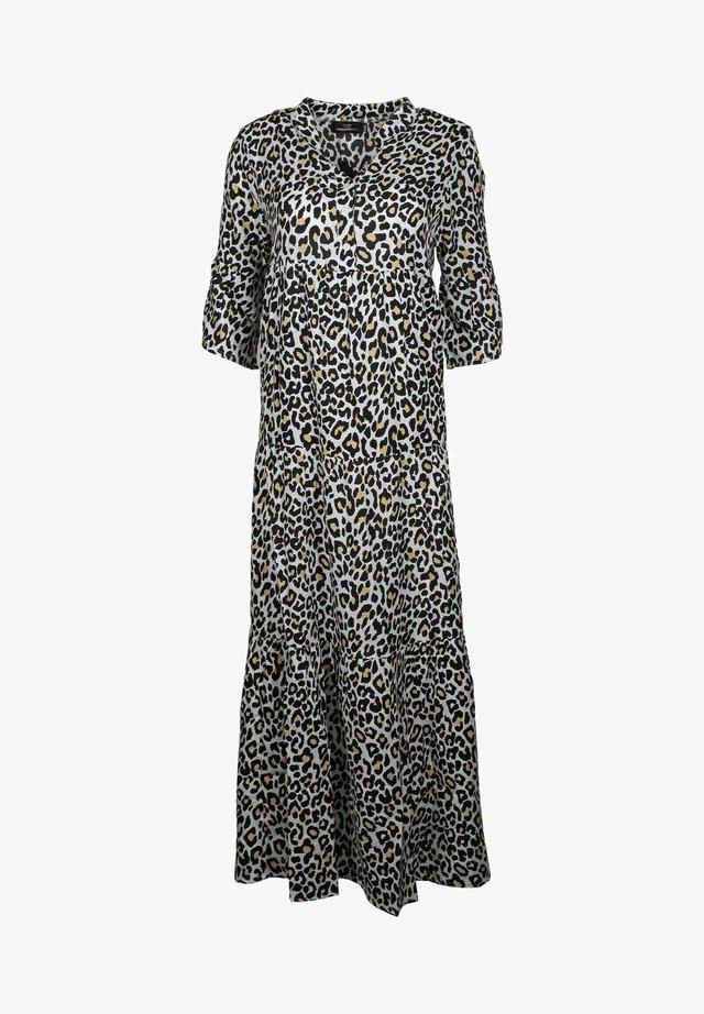 LENI - Day dress - schwarz/beige