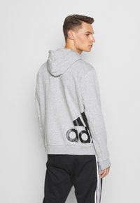adidas Performance - BOXBOS - Hoodie - medium grey heather - 2