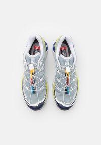 Salomon - XT 6 UNISEX - Sneakers - quarry/white/primrose - 5