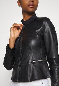 ONLY - ONLJENNY JACKET - Faux leather jacket - black - 5